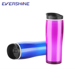 Custom logo AS 16oz BPA Free plastic travel mug with good price