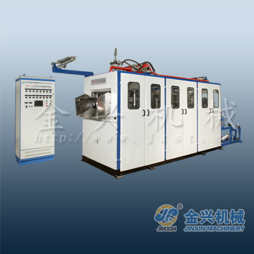 JinXin Brand Automatic High Speed Plastic Disposable Glass Machine