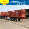 High bed fence stake side wall semi cargo trailer on sale