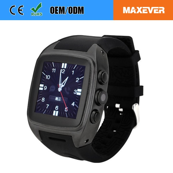 Video Call Watch Phone3G MTK6572 Smart Watch Android Wifi Watch Phone