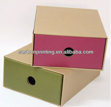 Hot Sale Empty Folding Rigid Storage Packaging Gift Corrugated Paper Box