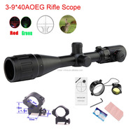 3-9*40AOEG tactical Airsoft Hunting riflescope for 11mm/22mm rail