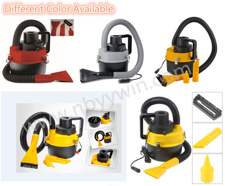 DC 12V 90W High Power Strong Suction Portable Car Vacuum Cleaner