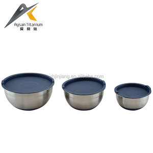 Popular high quality stainless steel mixing bowl set