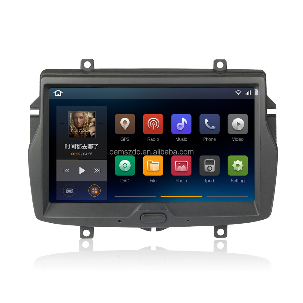 Factory price 8 inch android 6.1 car dvd player car multimedial radio gps glonass wifi for Lada vesta