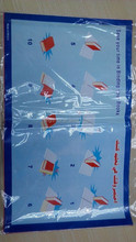 China supplier clear adjustable slip book cover