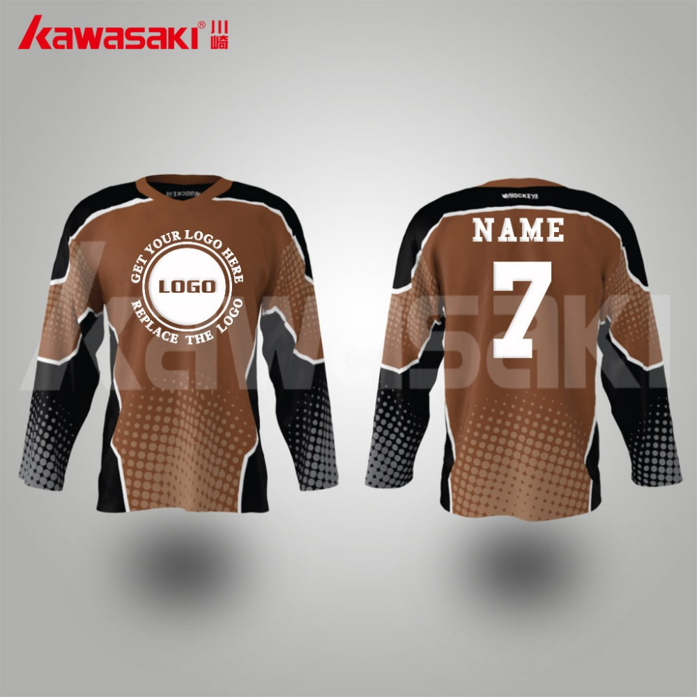 Best price promotional custom embroidery ice hockey jersey