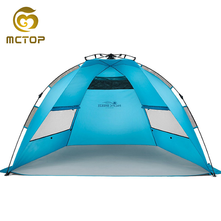 Superior bulk sale assured trade custom portable pop up beach tent