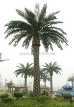 Camouflaged Telecom steel Monopole Tree Tower bionic palm tree for India telecommunication project