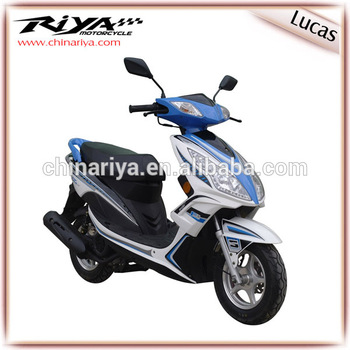 LUCAS-50CC 4 Stroke Popular Gas Adult Scooter with EEC