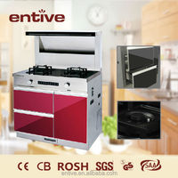3 in 1 cooker gas stove range hood
