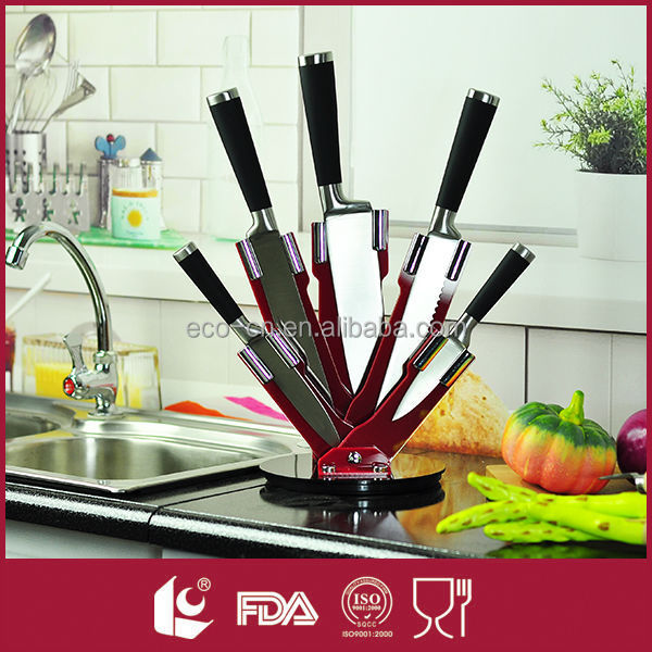 Hollow Handle 5pcs Knife Stainless Steel Kitchen Knife Set