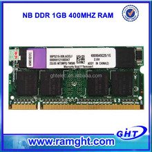 DDR 400mhz laptop sodimm android 1gb ram mobile with full compatible