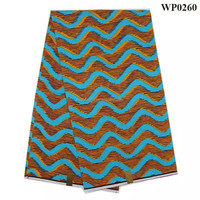 Fashion veritable wax block prints fabric african super wax wholesale hollandais wax fabric WP0318