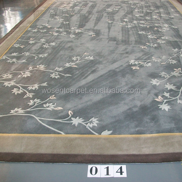 Wholesale 100% Wool Hand Tufted Carpets and Rugs Modern Design Area Rugs