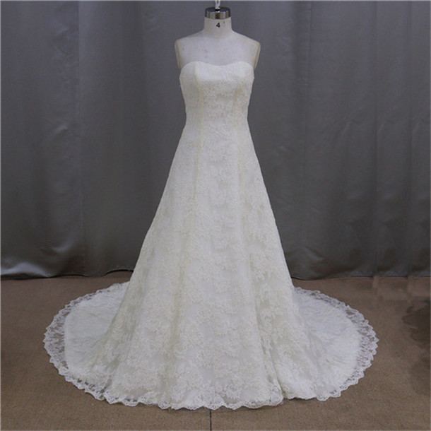 China factory hot sale custom made tailored wedding dresses china