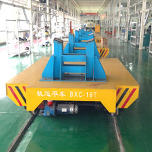 Slab handling transfer car steel pipe transport