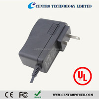 Shenzhen UL Listed Power Supply 12V 1A ac dc adapter