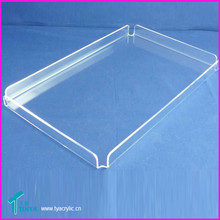 2015 Top Selling Beverage Martini Drink Serving Tray/Clear Fashion Acrylic Trays