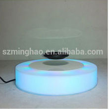 acrylic led magnetic levitation device/display stand