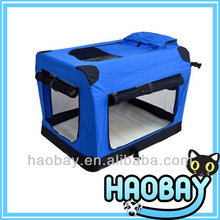 Cozy Pet House Steel Pet Dog Cat Travel Cage