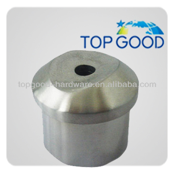 end cap for handrail stainless steel round tube