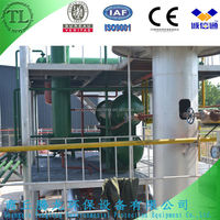 Hottest waste/used plastic/tyre pyrolysis equipment /plant for crude oil