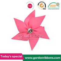 Pinwheel Flowers For Hair with alligator clip