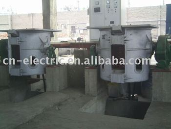 GW-1-750/1JJ 750Kw, 1ton, 1000kg Induction Melting Furnace