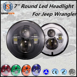 "7"" led headlight for Jeep & Motorcycle Harley Led Headlight plug and play Led Headlight 7"""