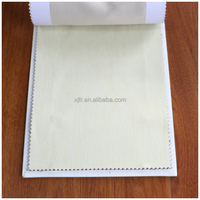 100% Polyester Plain fire retardant fabric for making hotel curtain