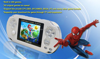 game console all in one with HD video screen handheld game console PMP-4S