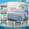 Super luxury silky soft 100% 80's Lenzing Tencel Duvet Cover set with duvet cover, flat sheet, fitted sheet, pillowcase