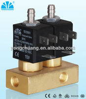brass combined solenoid valve for small home appliances