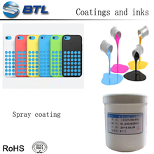 Liquid silicone spray coating for electronic keypads