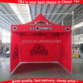 YBJ 10ft*10ft permanent automatic outdoor folding tent for trade show