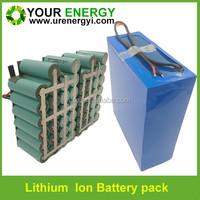 ultrathin 26650 lithium ion battery rechargeable 12v 36ah battery for solar led light and lawn lamp