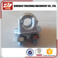 Cable Clip Galvanized Malleable Wire Rope Clips A Type Wire Clip
