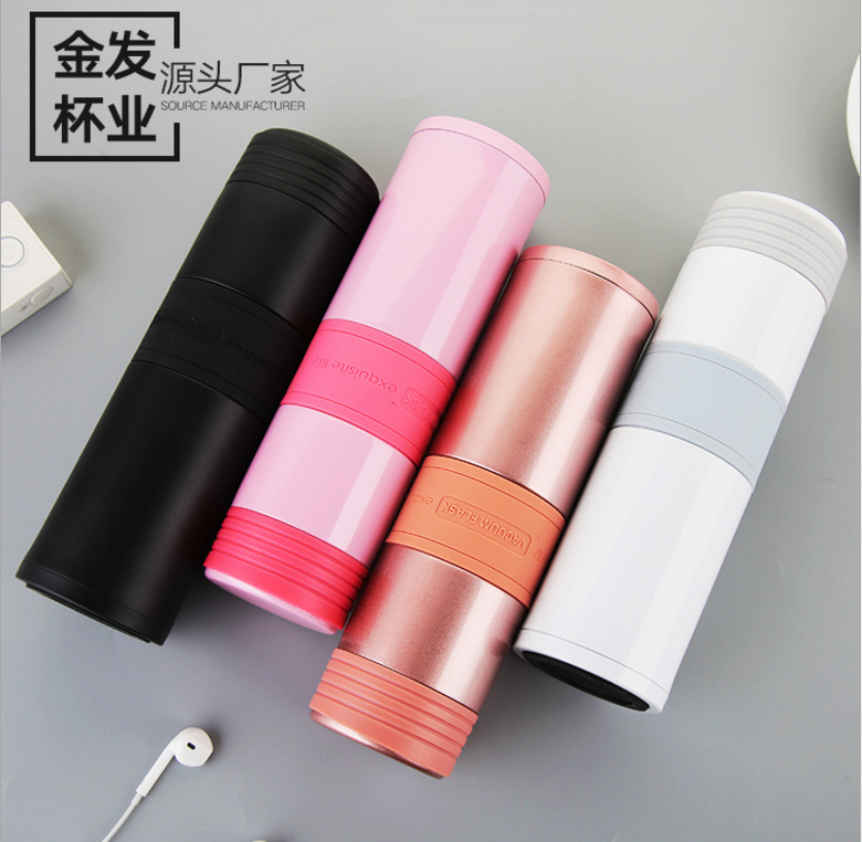 Double Wall Stainless Steel Coffee Thermos Mugs Thermal Bottle 500 ml Thermocup Fashion Tumbler