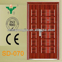 Cheap fire rated steel door used exterior