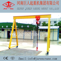 MH model A-frame workshop used portable gantry crane