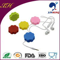 Earphone accessories cable winder retractable