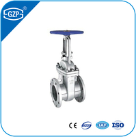 Cast Stainless Steel ASTM A351 CF8 CF8M CF3 CF3M API 600 6D 603 RF RTJ Flange Type Gate Valve with Class 150LB 300LB 600LB