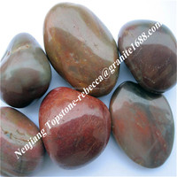 chinese hot design factory low price stone pebble,decoration garden stone,river stone