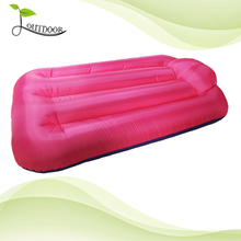 Lightweight air lounger inflatable filled sofa