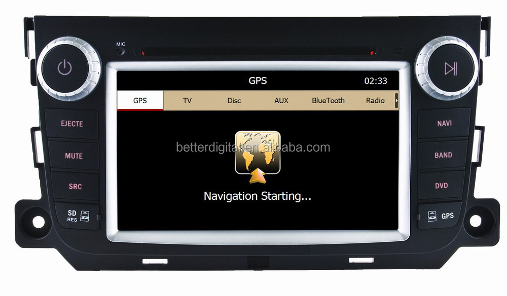 for smart fortwo 2012 car radio