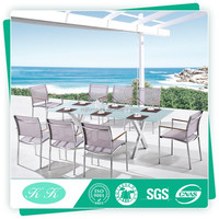 Fashionable used outdoor furniture dining set / garden furniture set / patio set