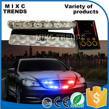 New 12 LED Emergency Vehicle Strobe Lights Car Flash Warning Lights for Front Deck