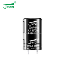 high voltage electrolytic capacitor 820uf 400v JWCO capacitor