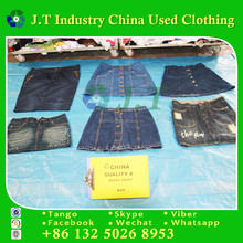 jeans skirt used clothes wholesale new york